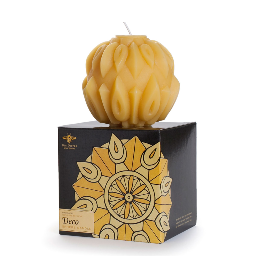Deco Sphere Candle