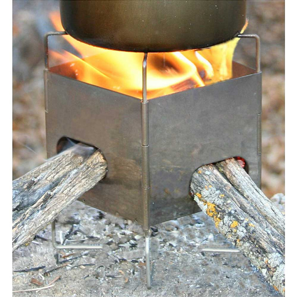 "Firebox 3"" Nano Ultralight Backpacking Stove - Stainless Steel"
