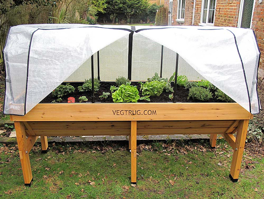 Medium VegTrug Frame and Greenhouse Cover