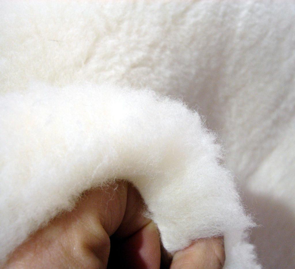 Happy Lamb Fleece Wool Topper