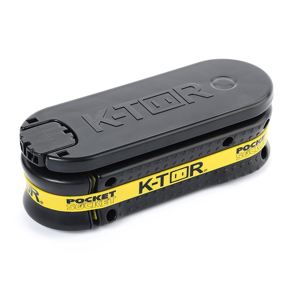 K-TOR Pocket Socket Hand Crank Generator - 2.0