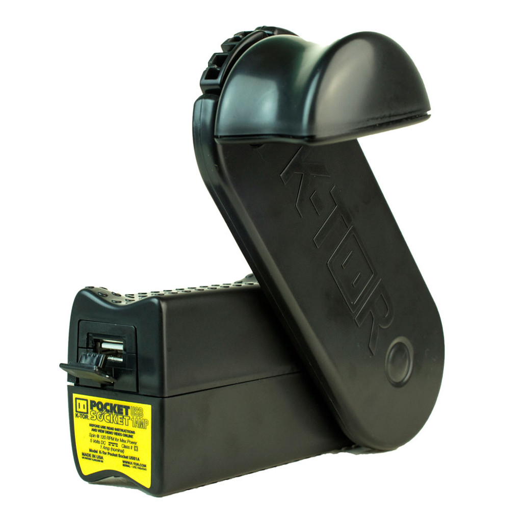 K-TOR Pocket Socket Hand Crank Generator - USB