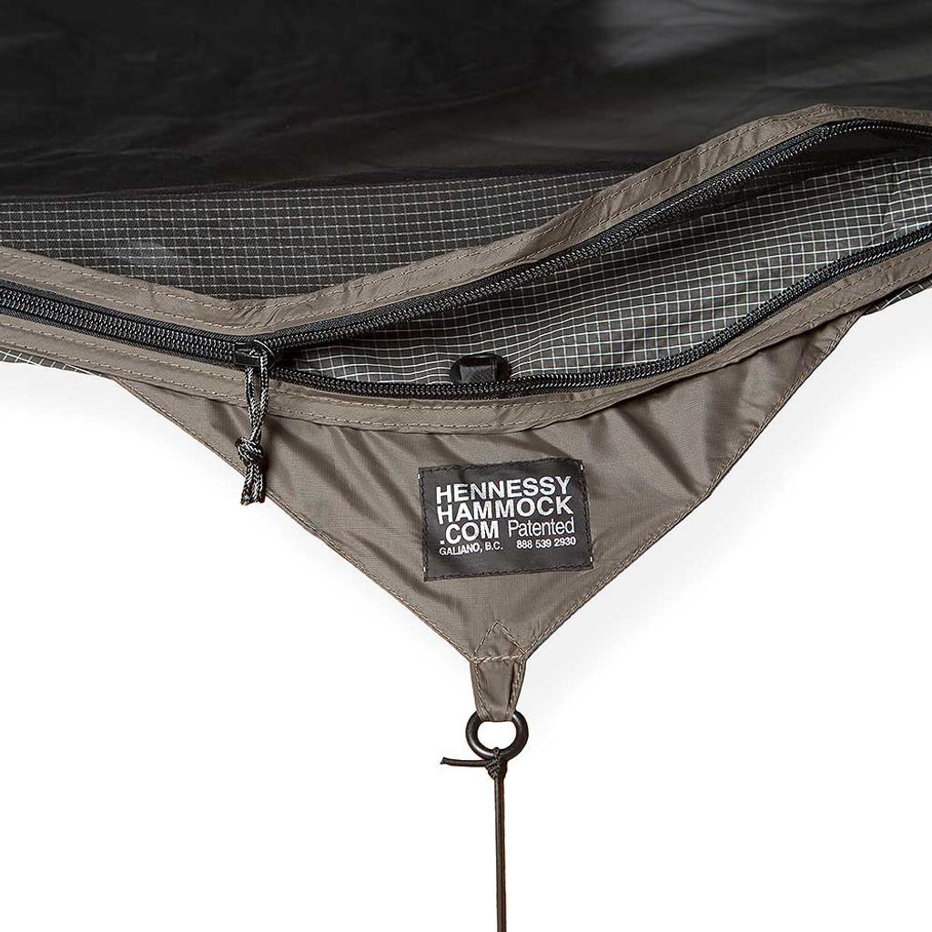 Hennessy Hammock Explorer Deluxe Asym Zip