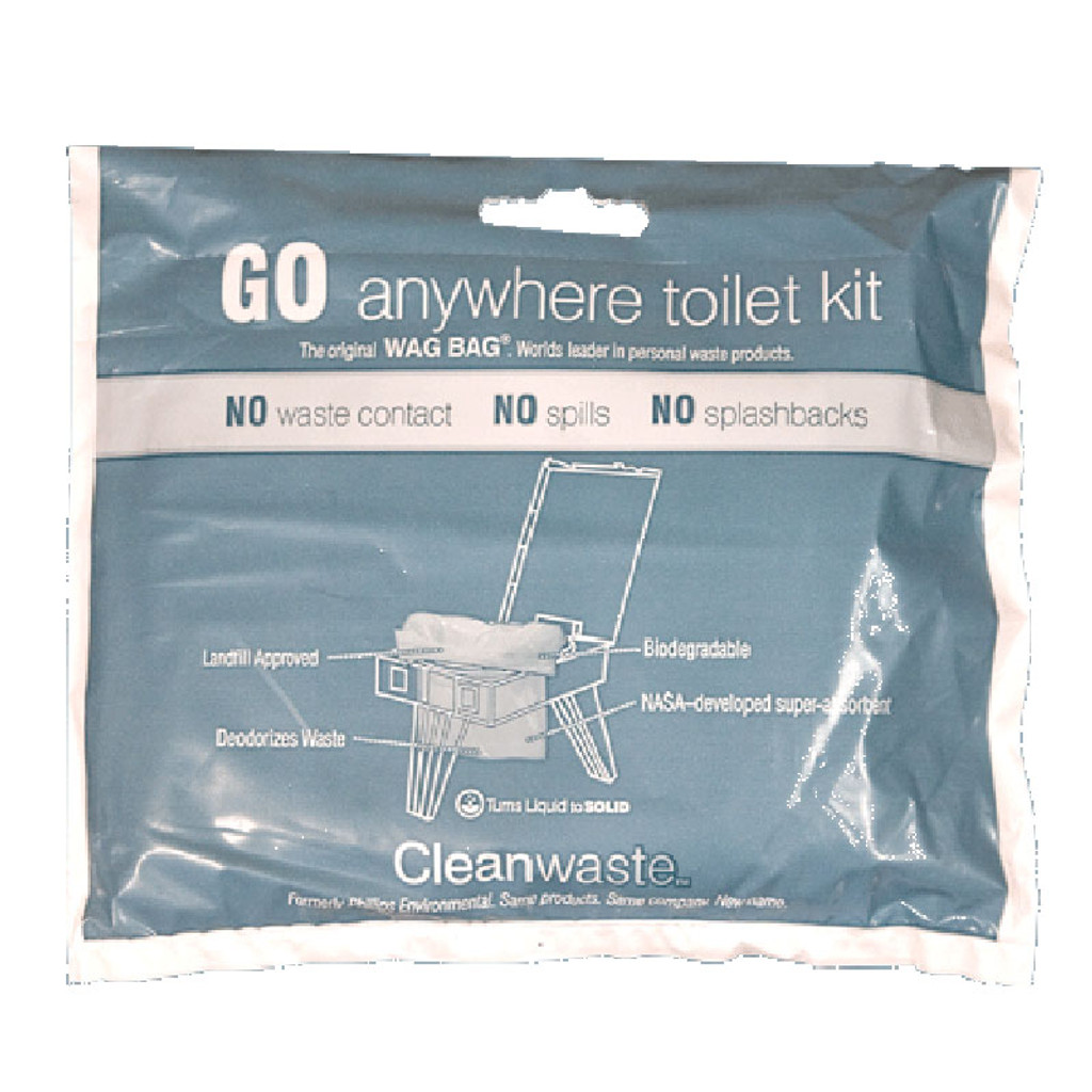 Go Anywhere Toilet Kit - 12 Pack