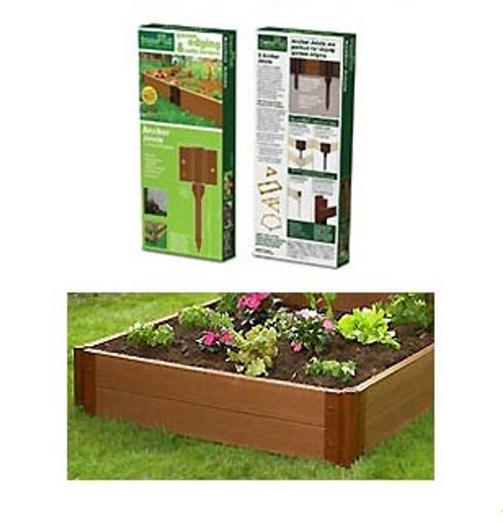 Raised Garden Bed Anchor Joints 2-Pack
