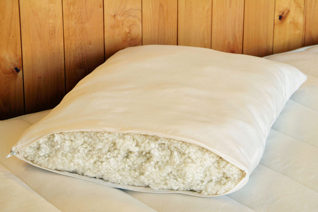 "Woolly ""Down"" Pillows"