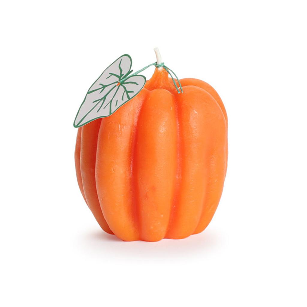 Medium pumpkin candle