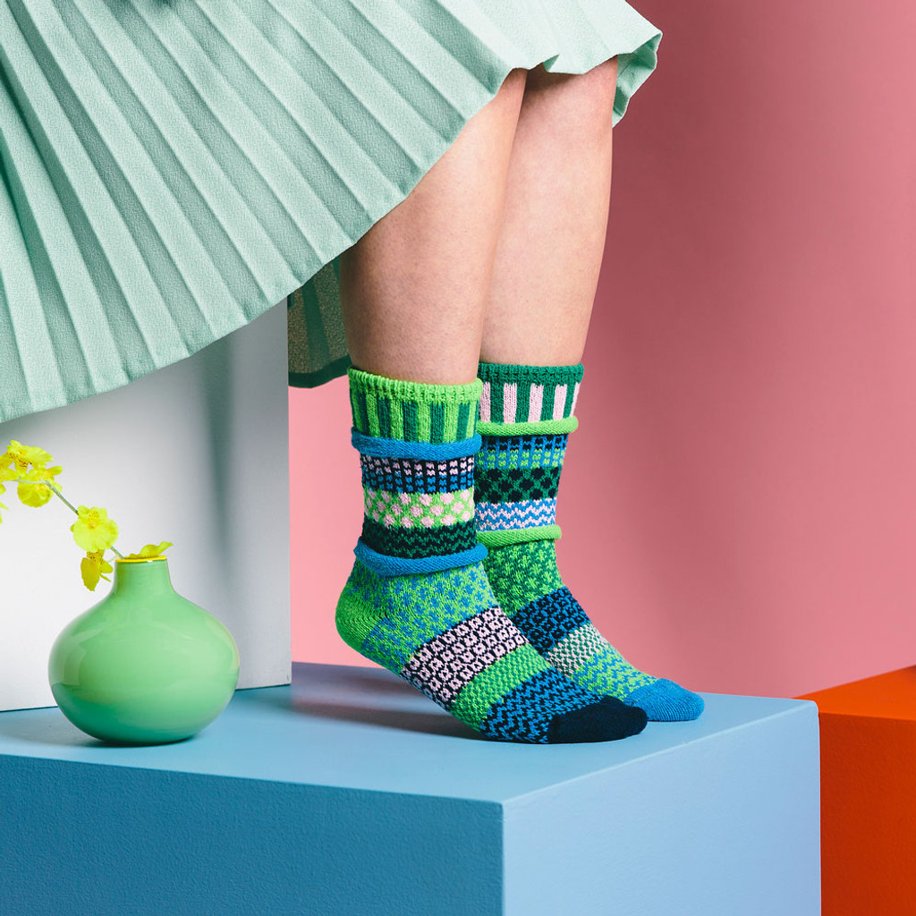 Water Lily Recycled Cotton Socks