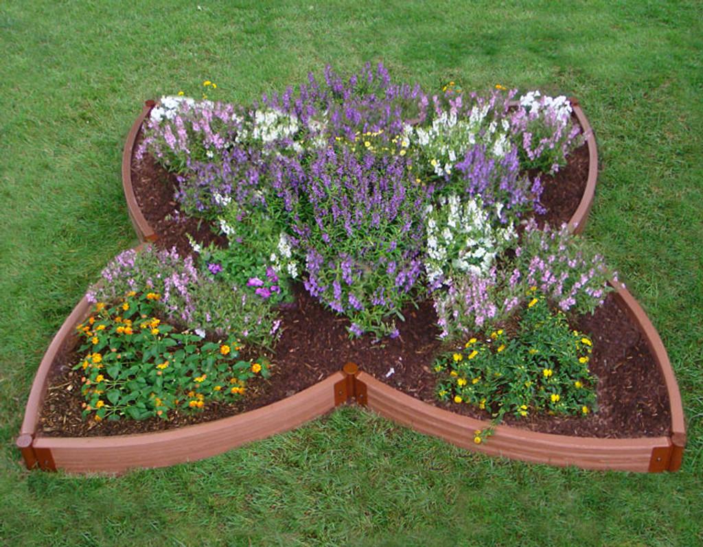 Four Leaf Clover Raised Garden Bed