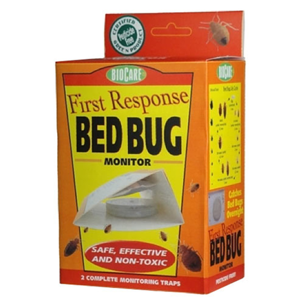 First Response Bed Bug Monitor Trap