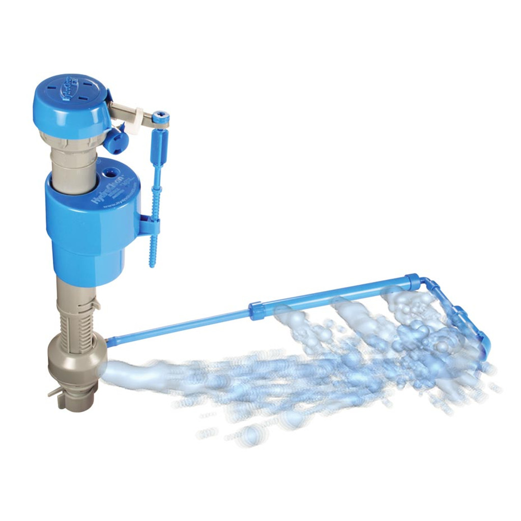 Hydroclean Water Saving Toilet Fill Valve With Cleaning