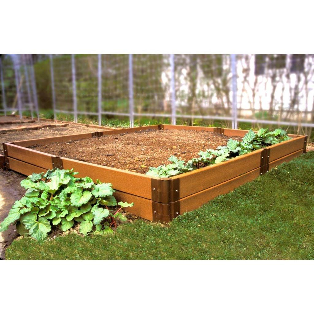 Composite Raised Garden Bed - 8' x 8' x 12''