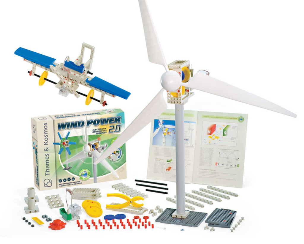 Wind Power Renewable Energy Kit