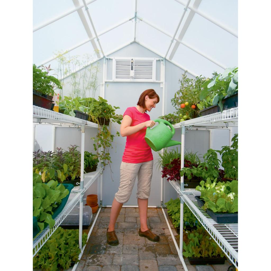 """Solexx Garden Master Greenhouse Kit - 8' x 8' x 8'9"""""""