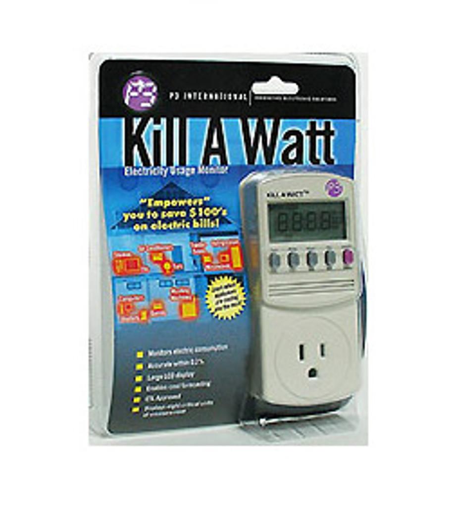 Kill A Watt Electricity Monitor