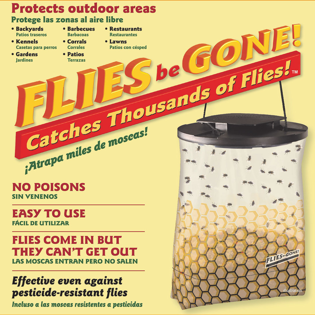 Flies Be Gone Non-Toxic Fly Trap