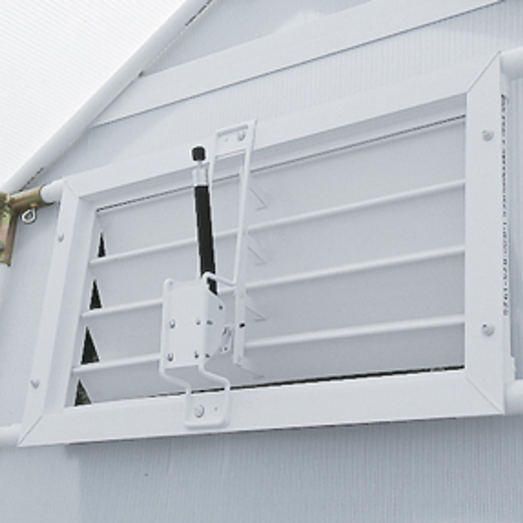 Optional Automatic Solar Louver Opener