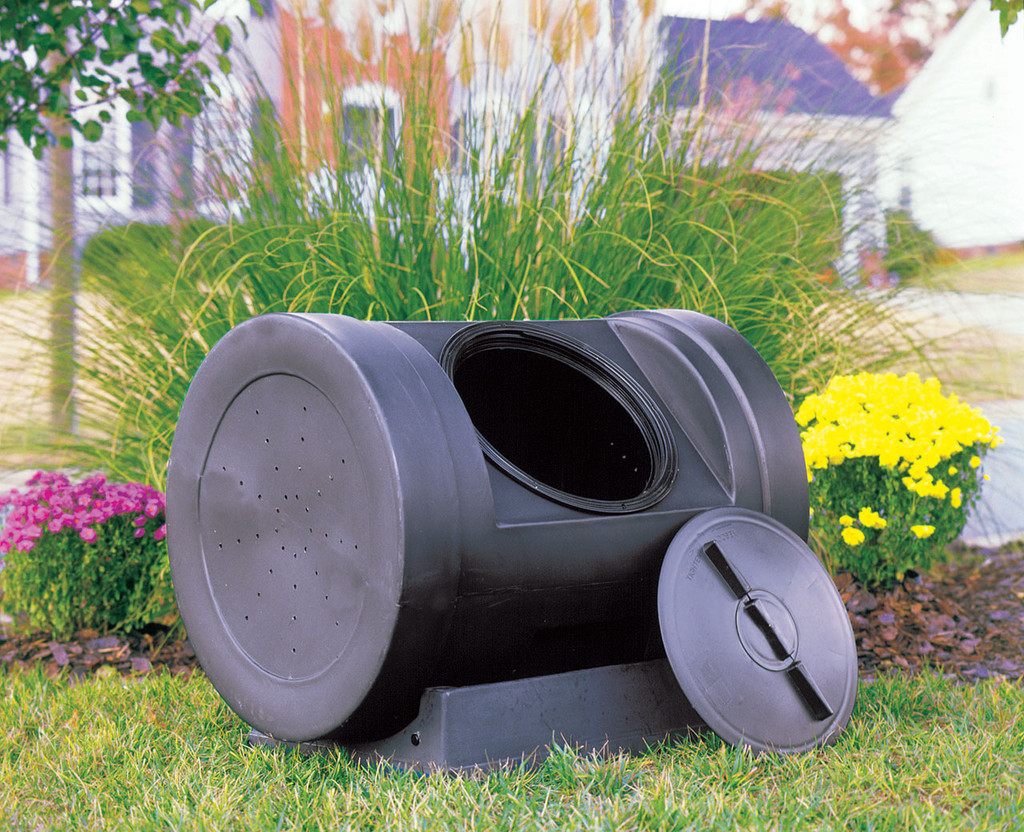 EZ Compost Wizard 12 Cubic Foot Compost Tumbler
