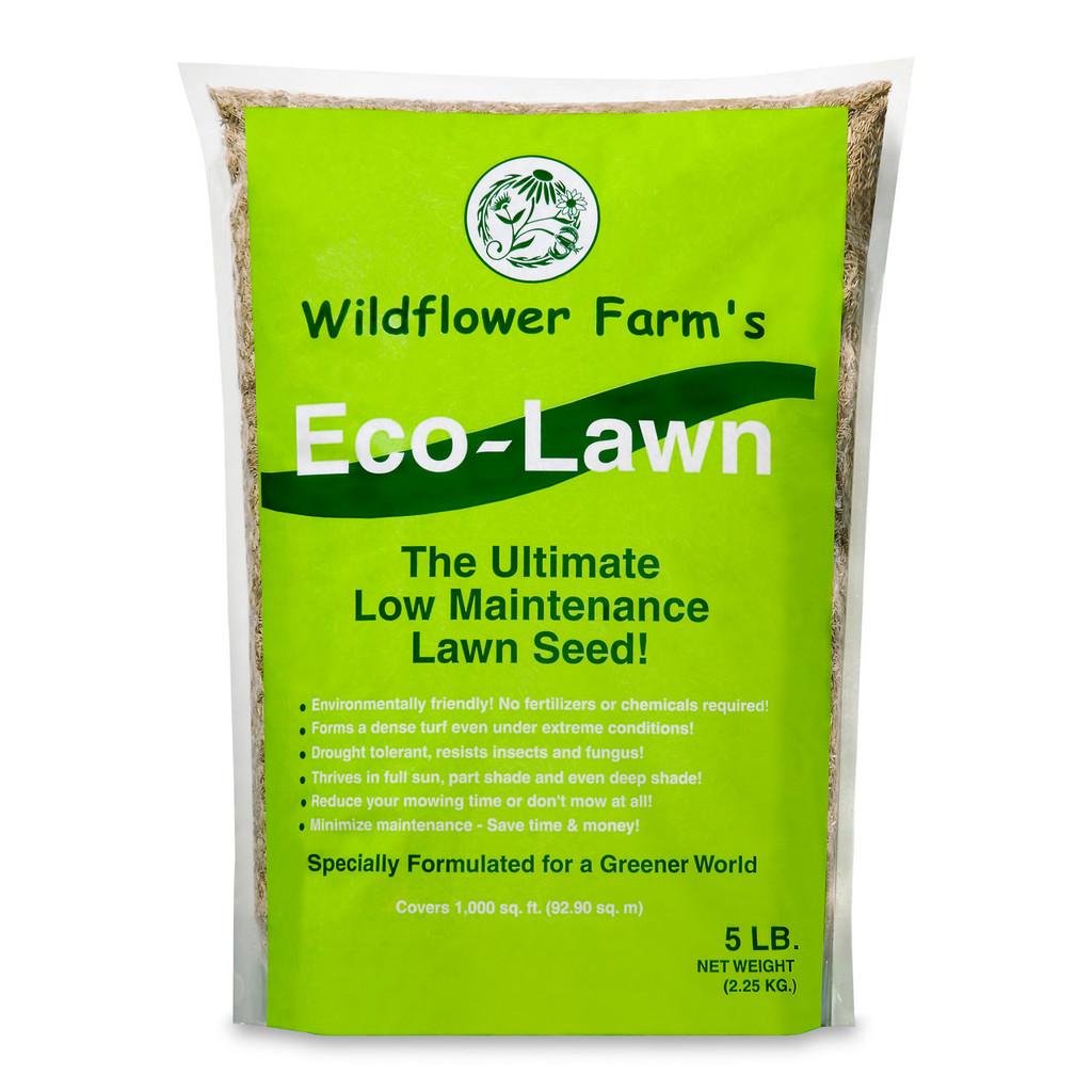 Wildflower Farm's Eco-Lawn Grass Seed - 5 lb