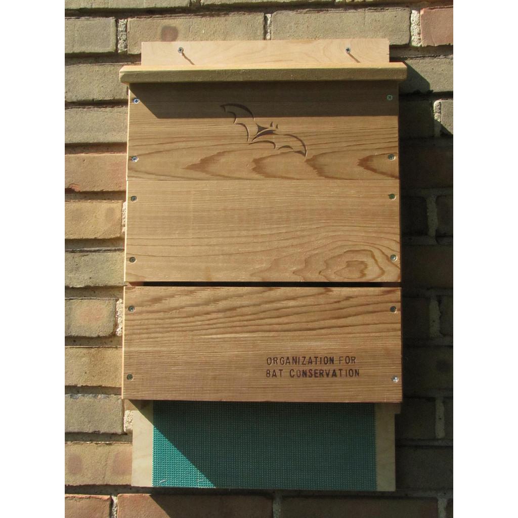 Wooden Bat House - Single Chamber