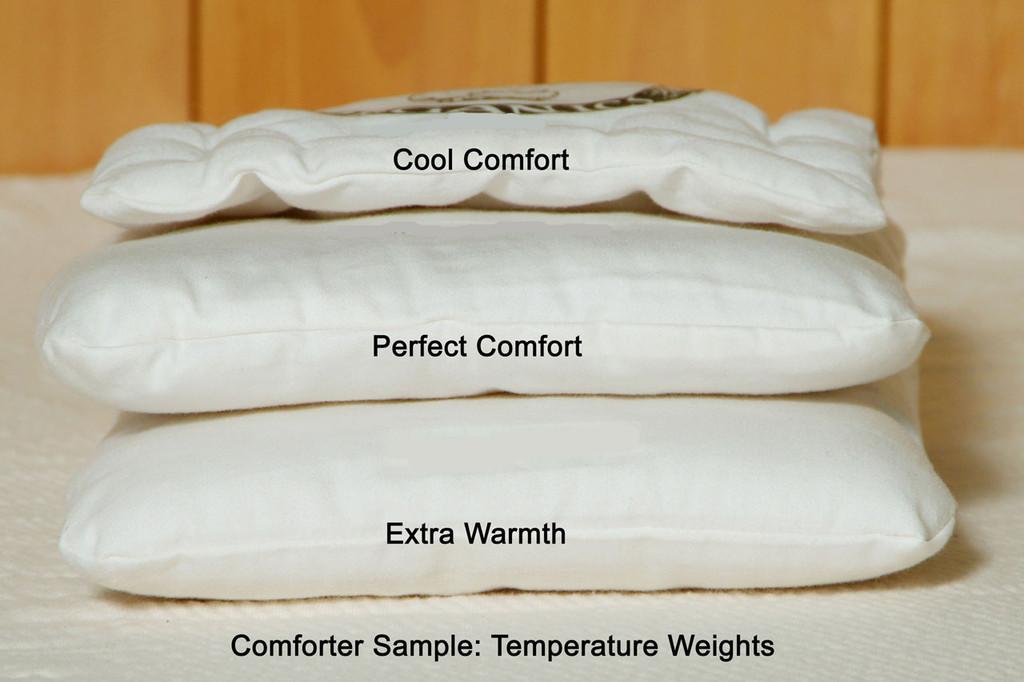 Twin-Size Wool Comforter