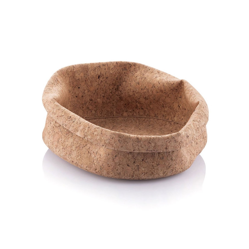 Soft Cork Fabric Bowl