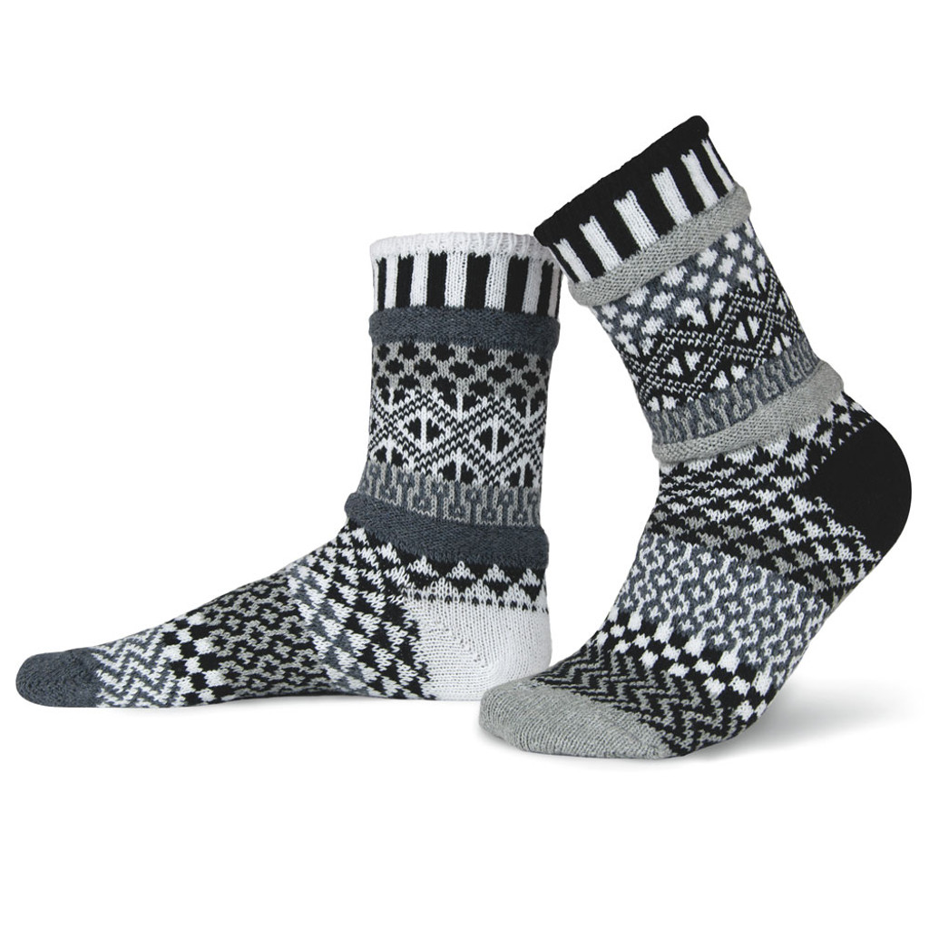 Midnight Recycled Cotton Socks