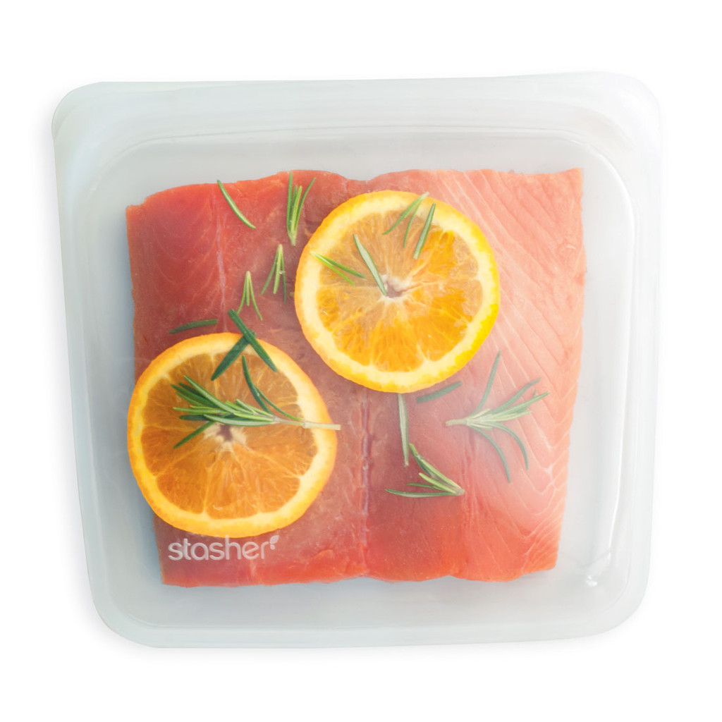 Clear - Stasher Sandwich Bag