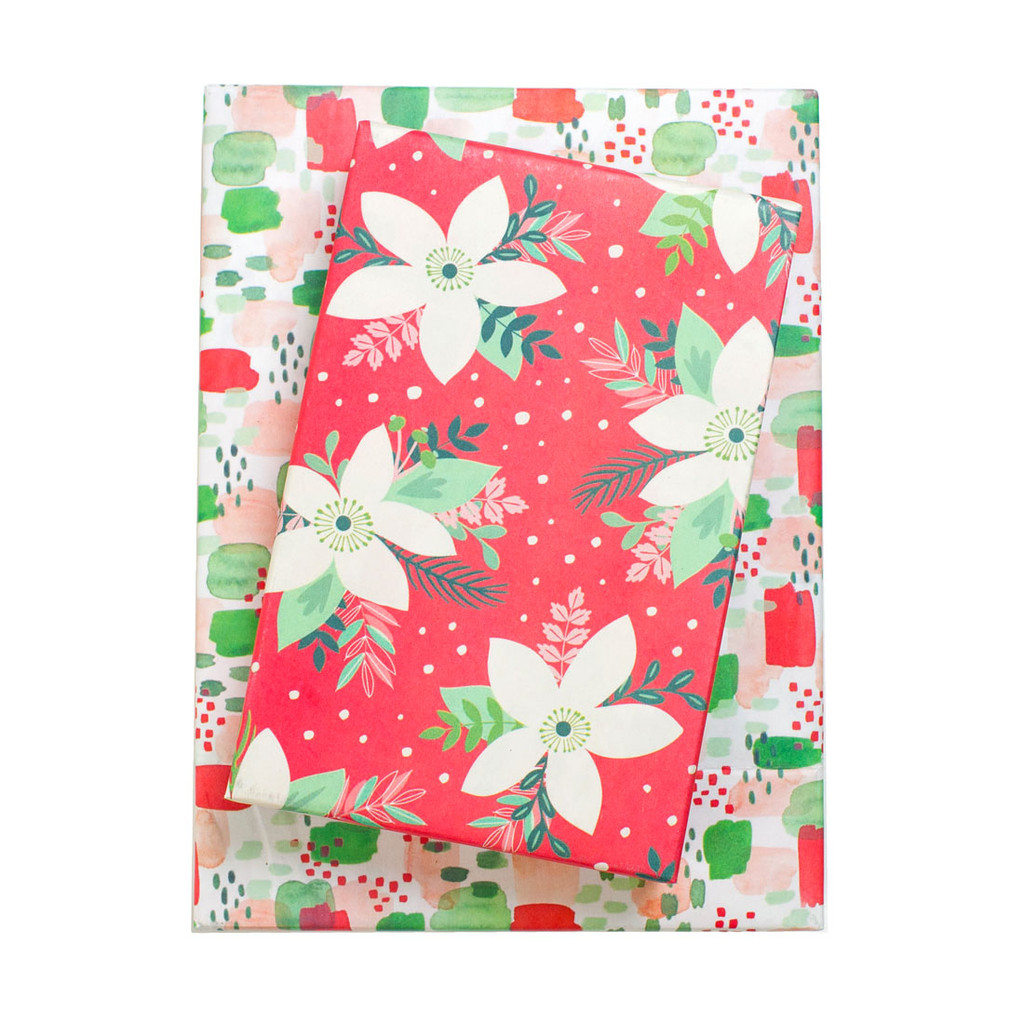 Poinsettia / Painterly
