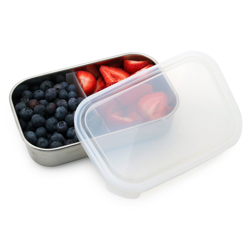Divided Stainless Steel Rectangle Container