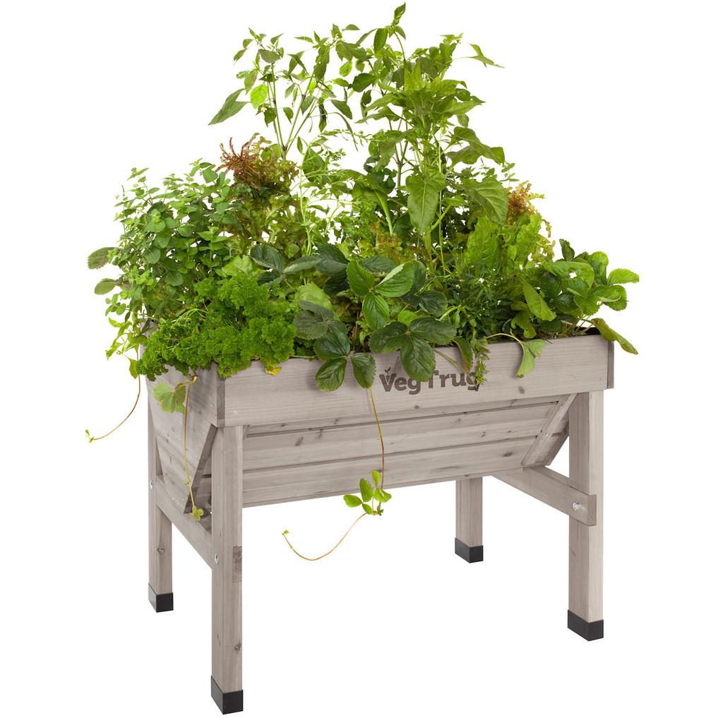 VegTrug Raised Garden Planter - Grey