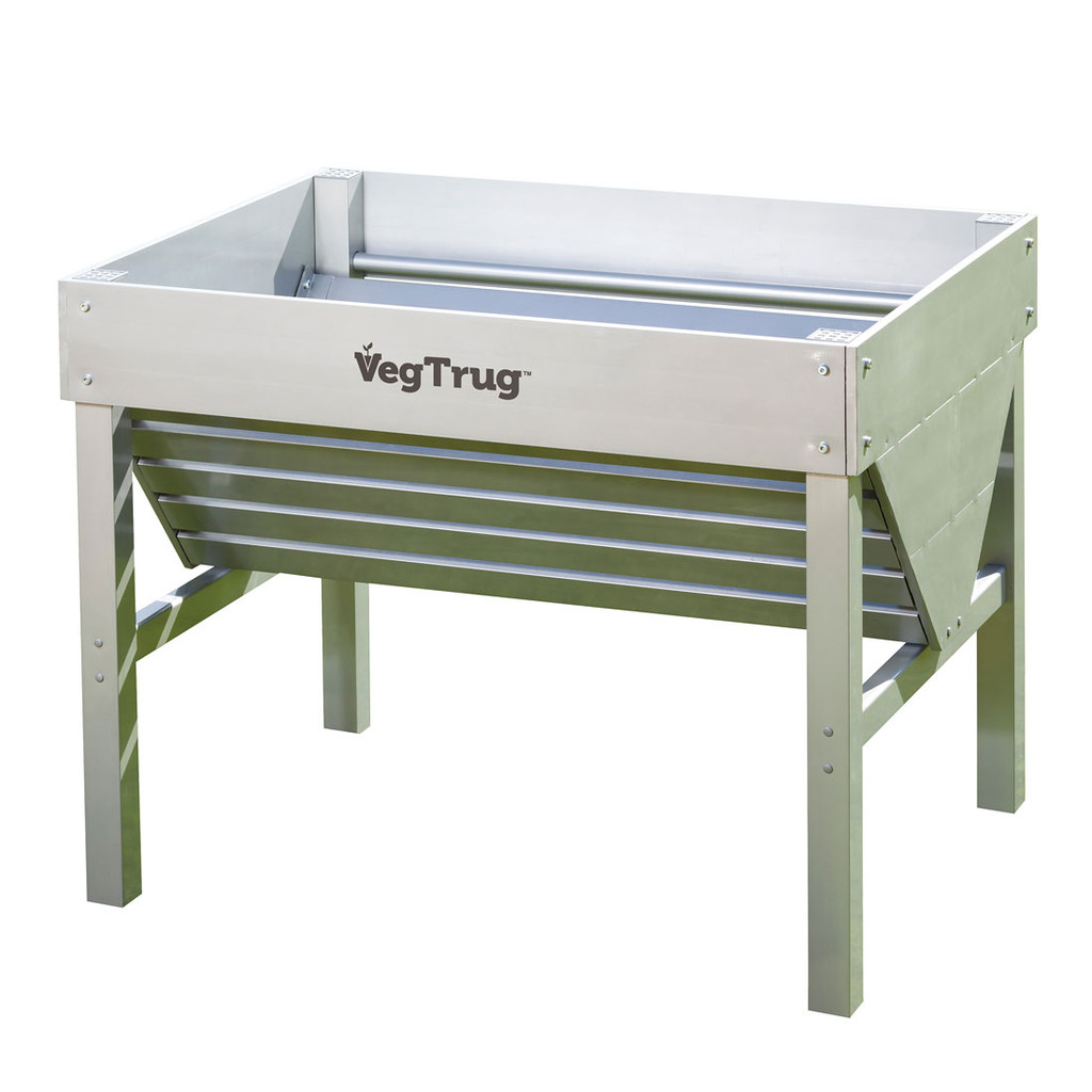 VegTrug Aluminum Raised Garden Planter