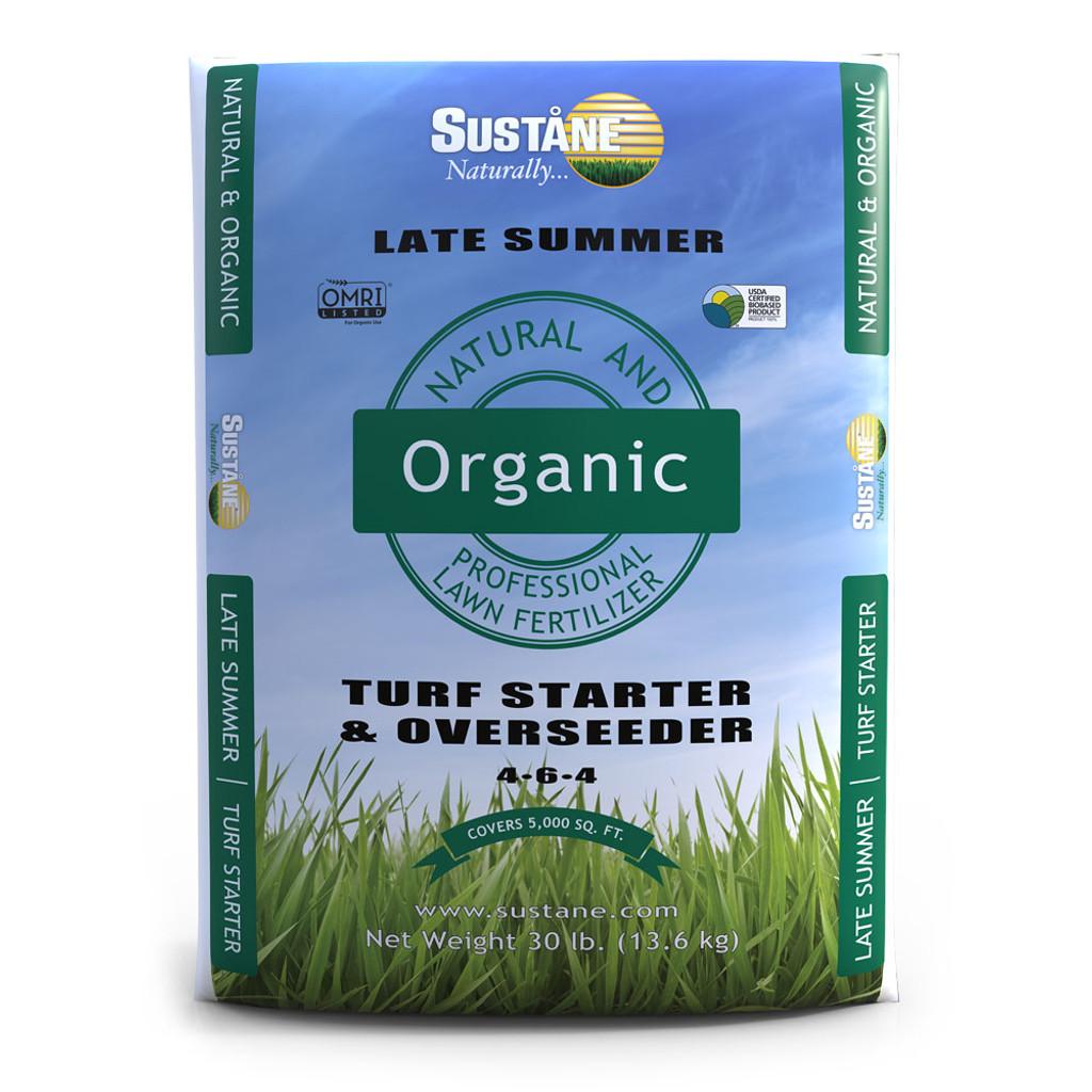Organic Turf Starter Fertilizer 4-6-4 - 30 lbs