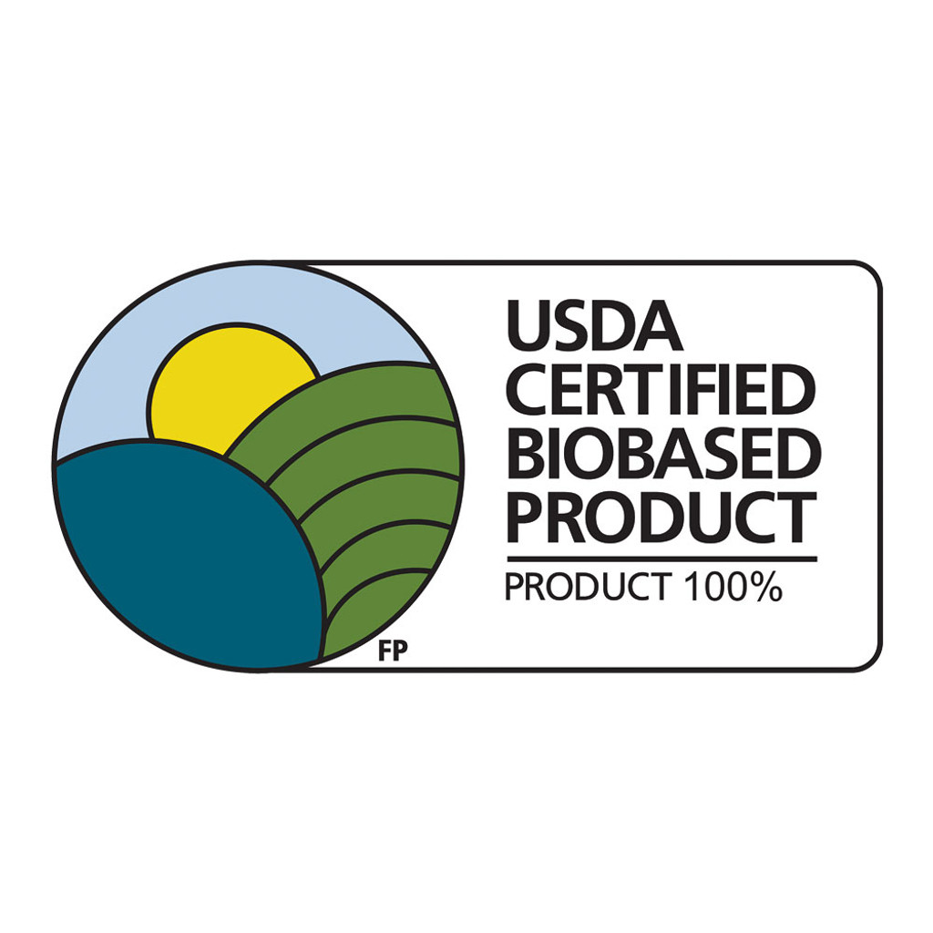USDA Certified 100% Biobased Product