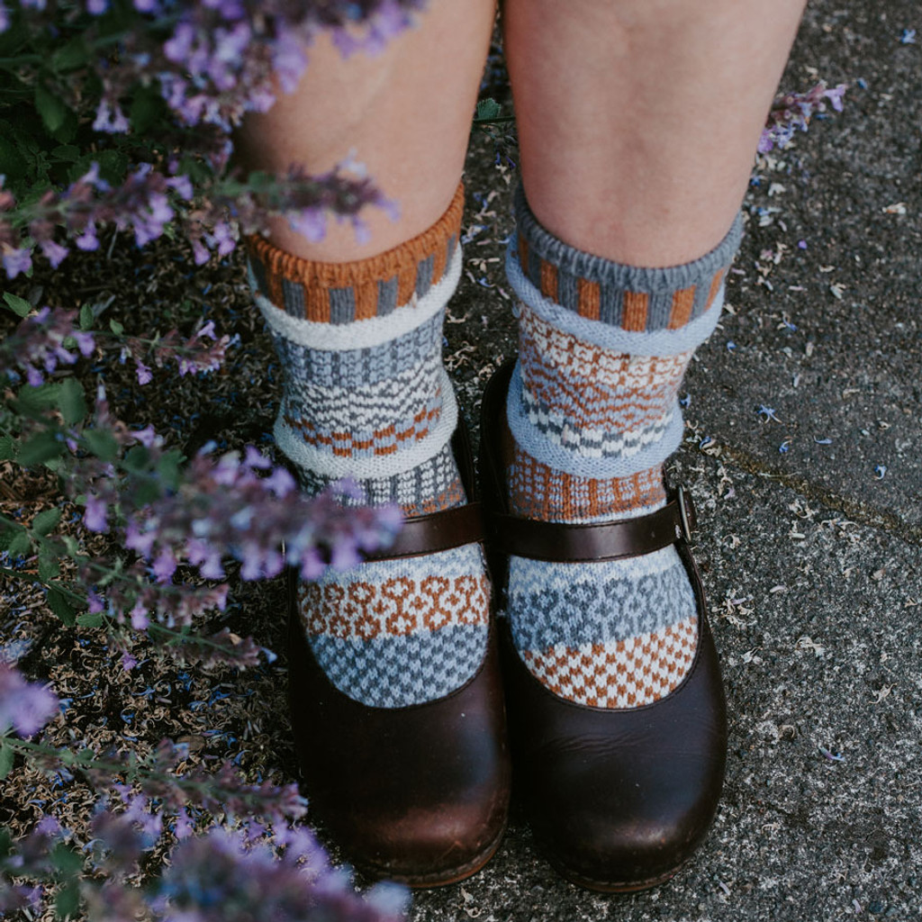 Foxtail Recycled Cotton Socks