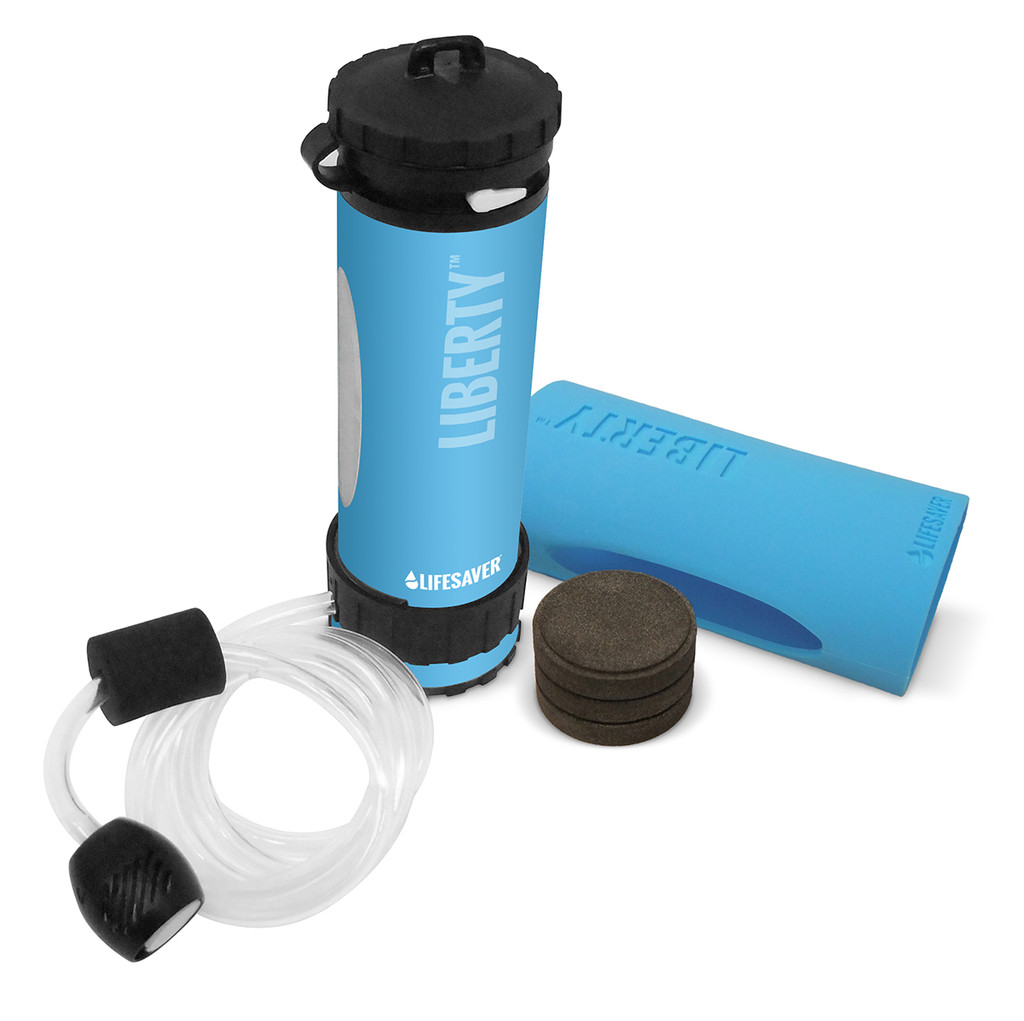 LifeSaver Liberty Portable Water Filter - Starter Pack