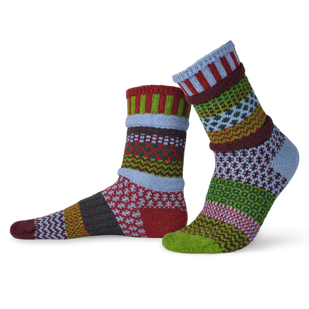 Elderberry Recycled Cotton Socks