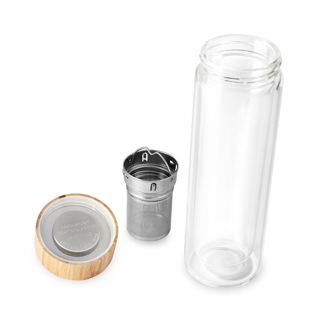 Includes tea strainer & infuser