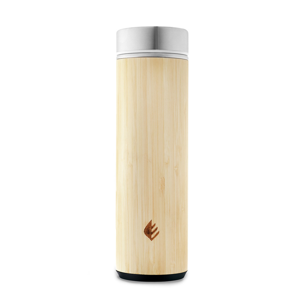 Bamboo Tumbler with Tea Infuser & Strainer - 18 oz