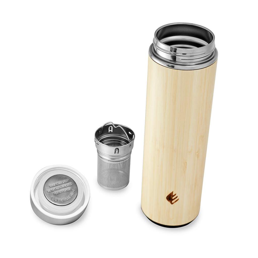Infuser and tea strainer included