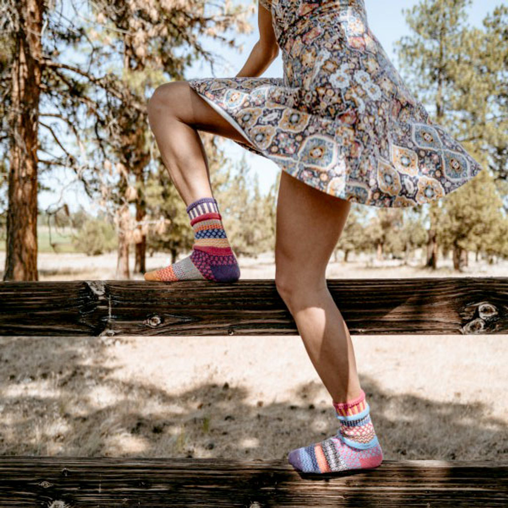 Sunny Recycled Cotton Socks