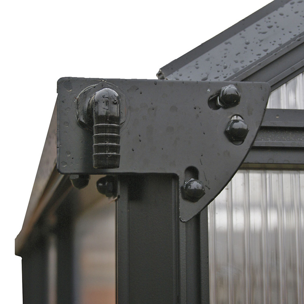 Integrated rain gutter system