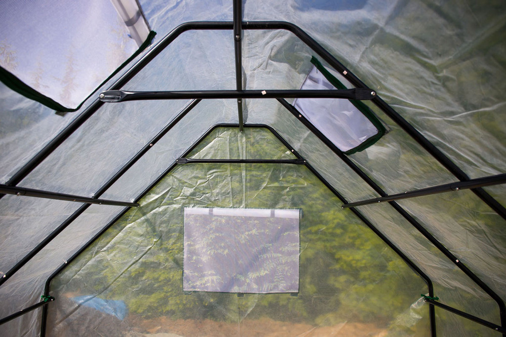 Greenhouse Frame and Ventilation Flaps