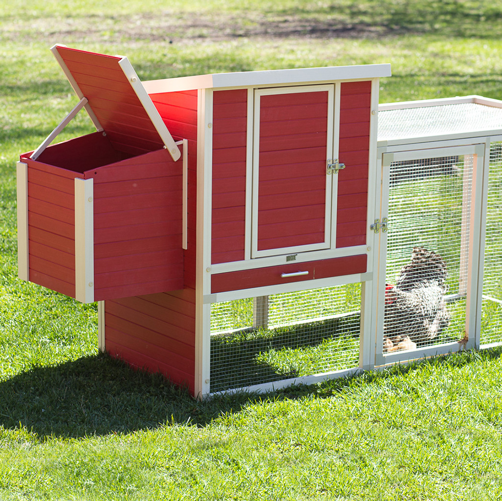 Recycled Plastic Chicken Coop - The Sonoma