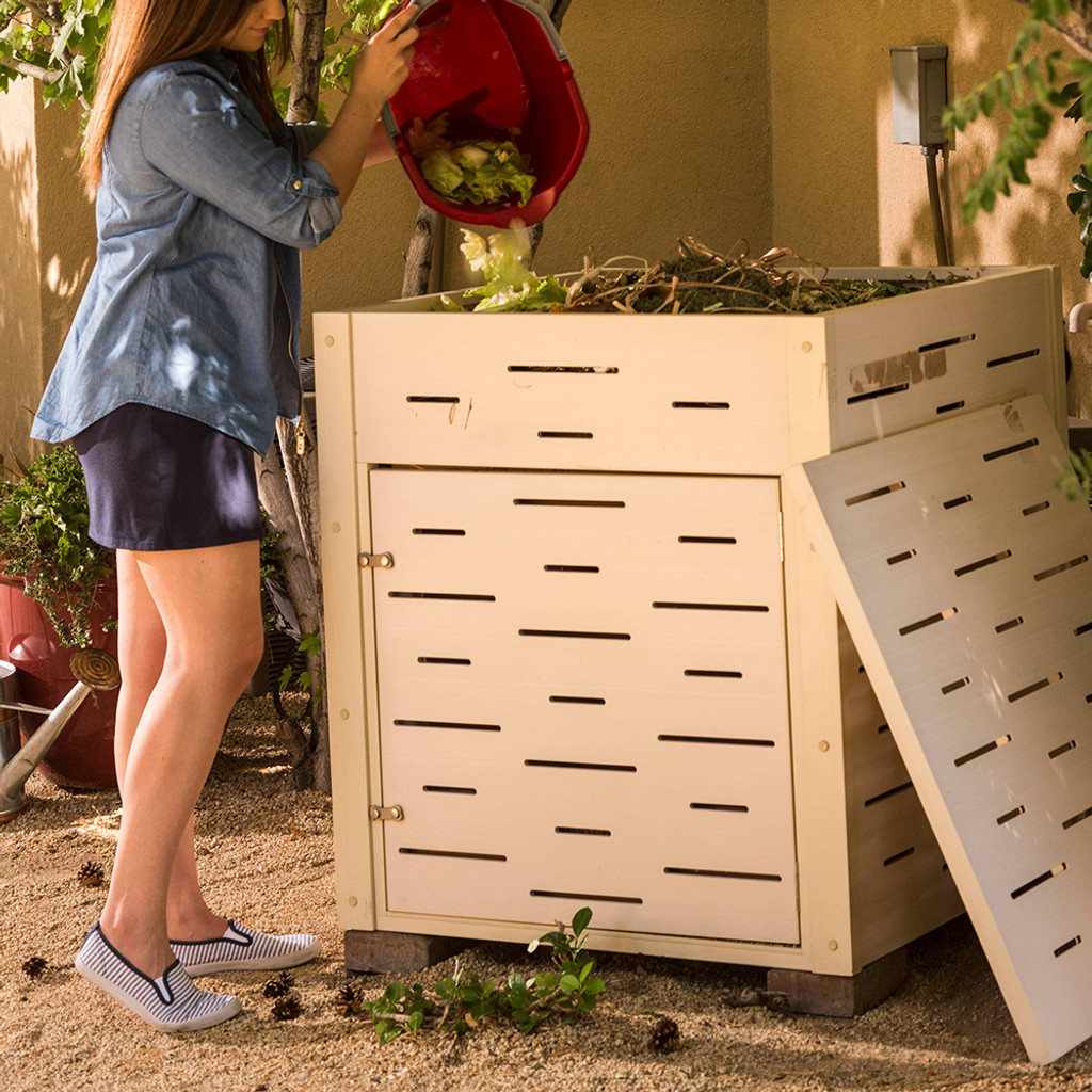 Recycled Plastic Compost Bin - 21 Cubic Feet