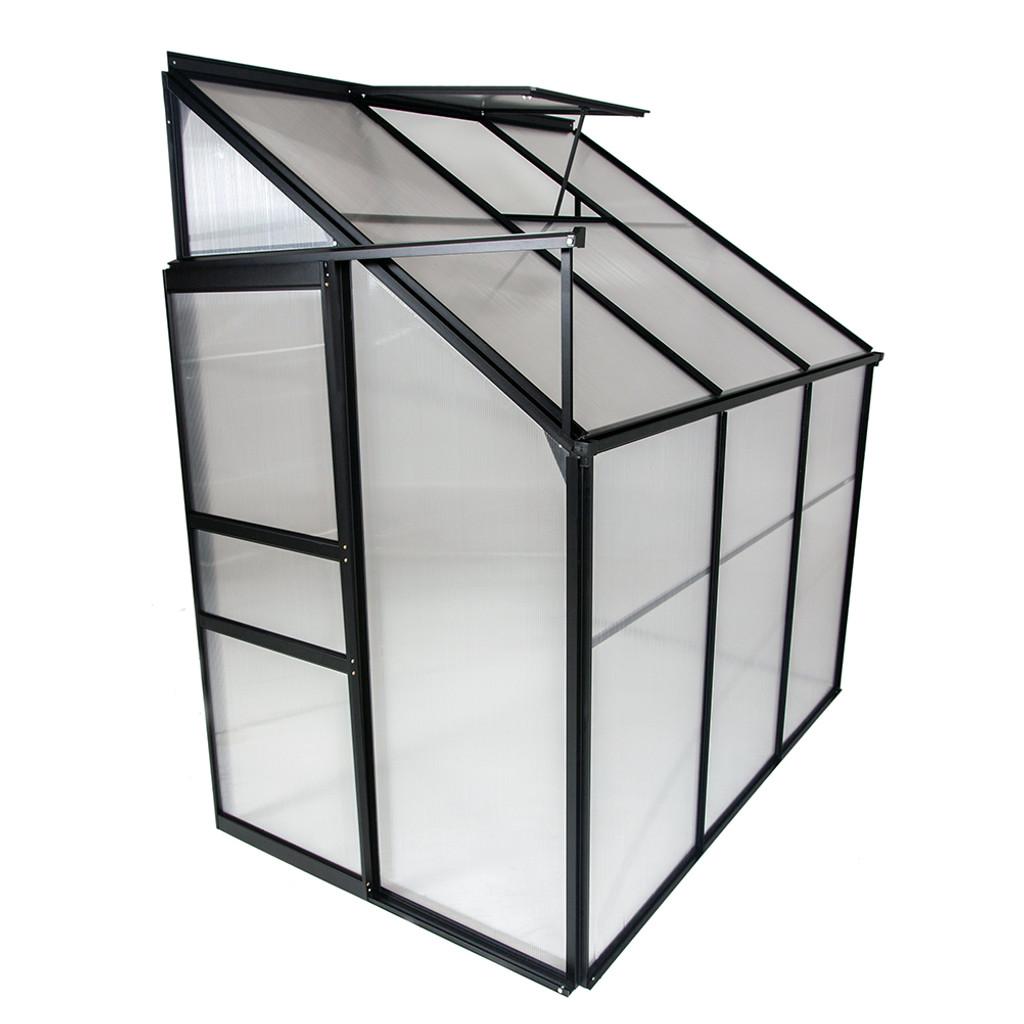 Ogrow Aluminium Lean-To Greenhouse