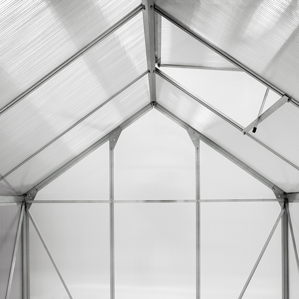 Ogrow Aluminium Walk-In Greenhouse - 6' Widths
