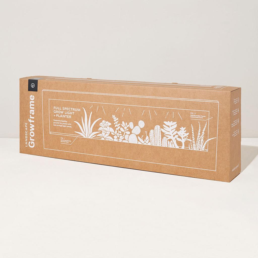 Smart LandscapeGrow Frame - Wall Planter & Grow Light