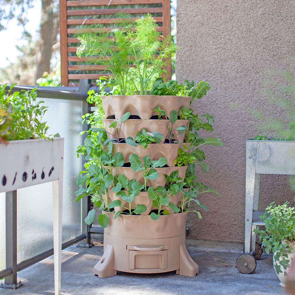 Garden Tower 2 - Vertical Garden Planter & Composter