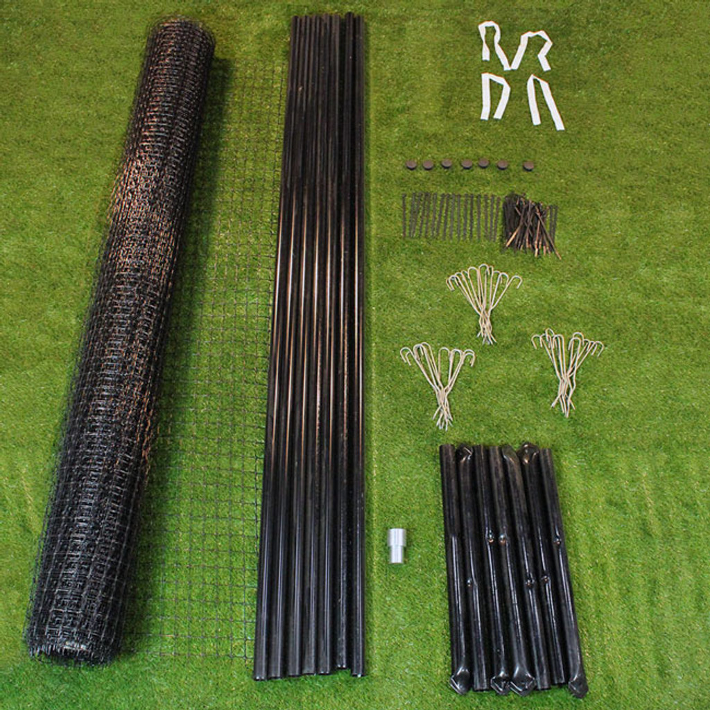 Perimeter Garden Fence Kit - 8' Tall